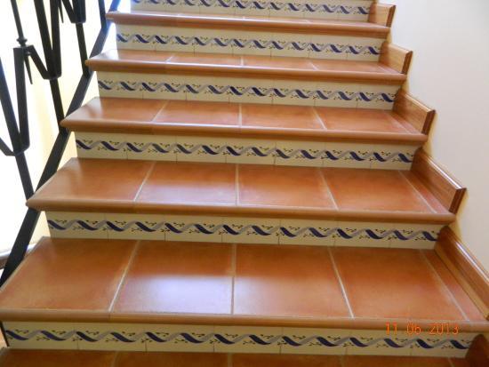 Hotel Les Palmeres: красивые лестницы