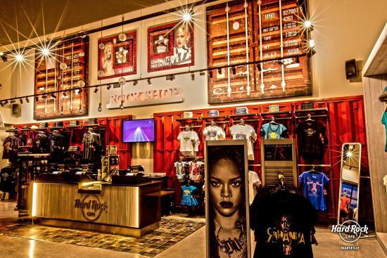 Hard Rock Cafe Miami Shop