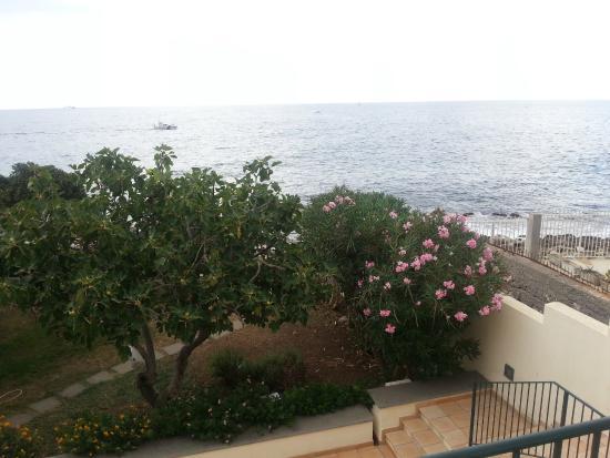 B&B Villa Addaura: Vista dal terrazzo