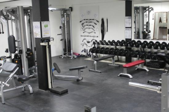 Gym and Fitness : downstairs