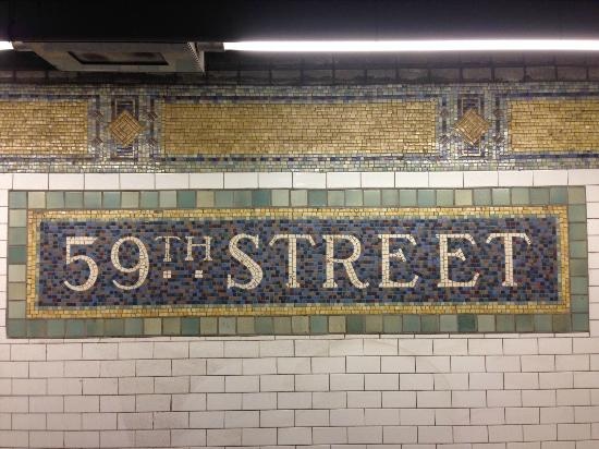 The Bentley Hotel 59th Street Subway Mosaic