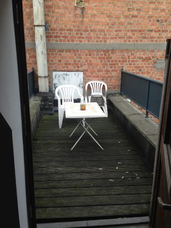 Azimut Flathotel: terrasse