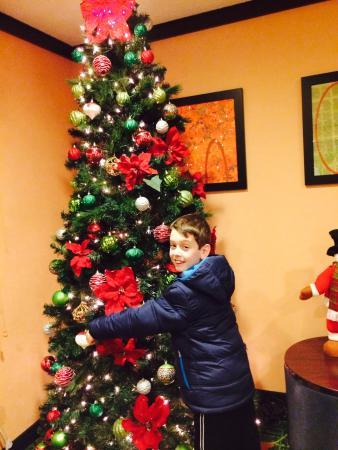 Fairfield Inn & Suites Minneapolis Bloomington/Mall of America: Christmas time at fairfield!