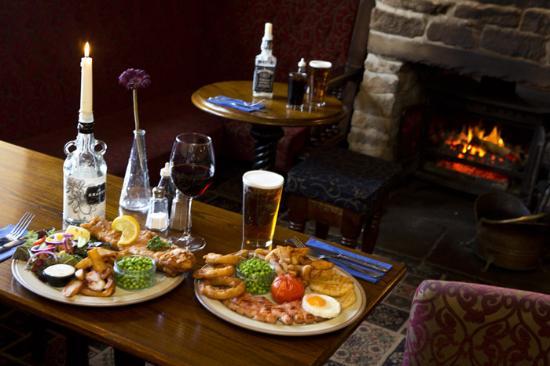 The Fleece Inn: Lunch