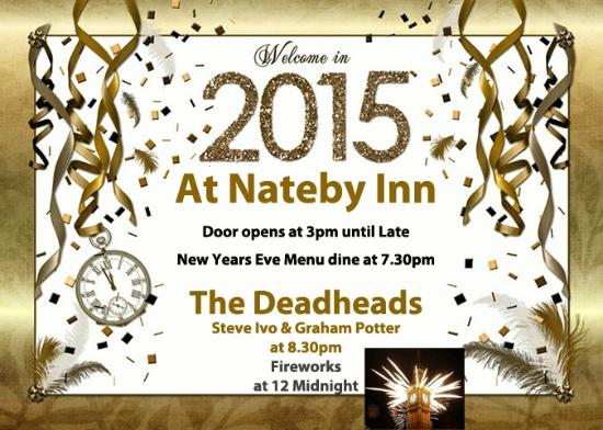 Nateby Inn: New Years Eve 2015