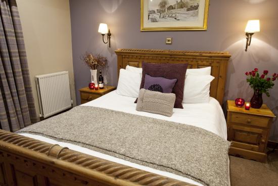 The Fleece Inn: room