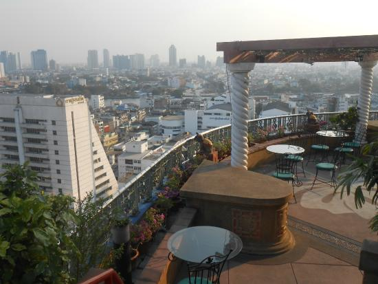 Grand China Hotel : Uitzict dakterras