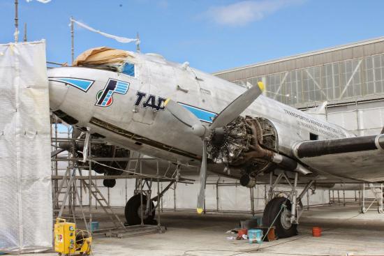 Air Museum: Douglas на реставрации