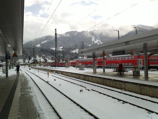 Garmisch-Classic : Estacion tren Garmisch