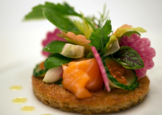Aureole: New Zealand King Salmon Gravlax