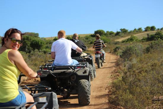 Nyala Safari Lodge: atv safari
