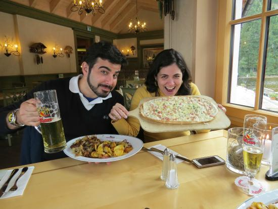 Mummelsee : nossos pratos