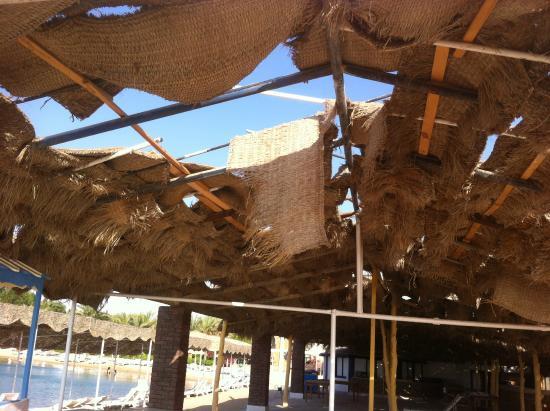 El Samaka Beach Hotel: Крыша