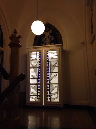 Hopper Hotel St. Josef: Im Treppenhaus