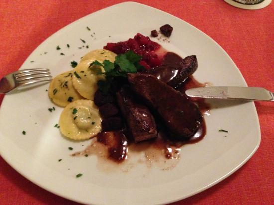 My meal at Zum Hasen