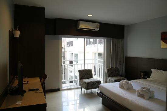Platinum Hotel: Вид из номера