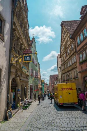 dhl bild von altstadt rothenburg tripadvisor. Black Bedroom Furniture Sets. Home Design Ideas