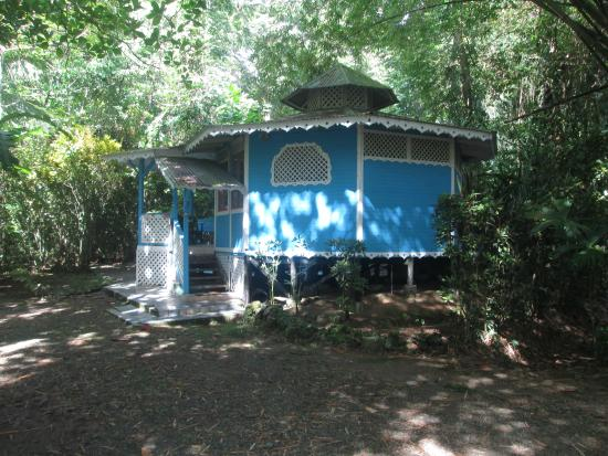 Hotel Aguas Claras: Blue cottage