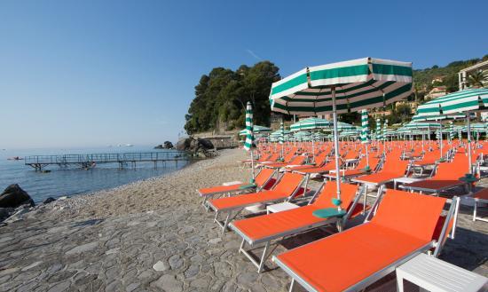 Fronte mare foto di spiaggia regina elena santa - Bagni helios santa margherita ...