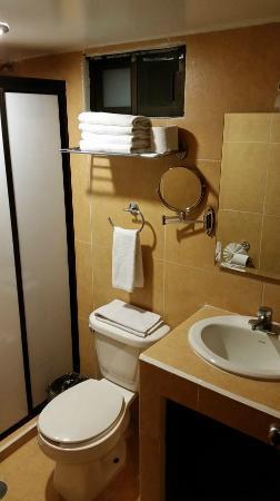 Hotel Real San Juan: das Badezimmer