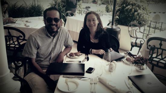 Perroquet: Almorzando con los amigos