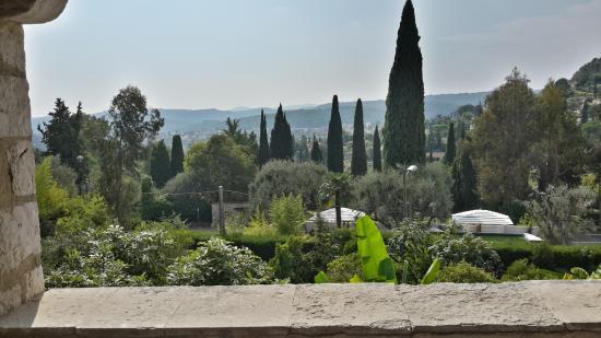 Les Orangers : Вид с балкона