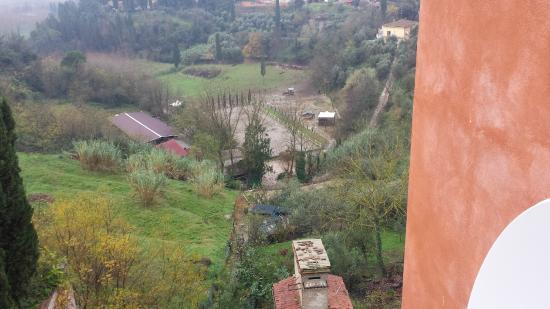 Albergo Quattro Gigli : panorama dal terrazzino