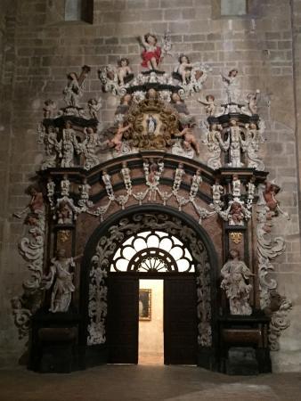 Monasterio de Veruela: Puerta lateral