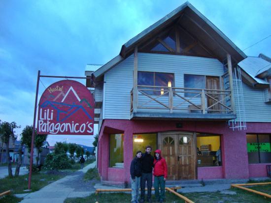 Hostal Lili-Patagonico: Fachada
