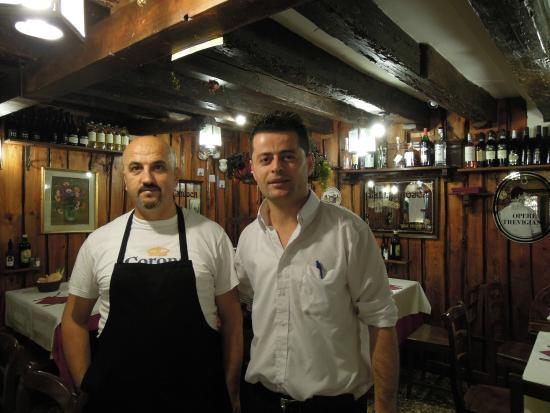 Tavernetta San Maurizio : They'll go out of their way to make you happy.