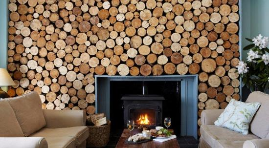 The Colonsay: Log room