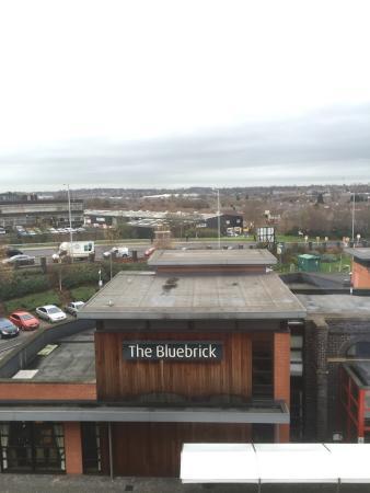 Premier Inn Wolverhampton City Centre Hotel: view from floor 4