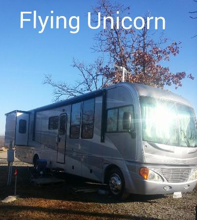 Lakeview Landing Motel and RV Park: Flying Unicorn at Lakeview Landing Rv and Motel