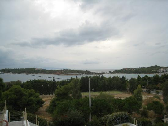 Vouliagmeni Suites: view from third floor