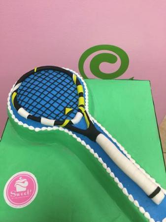 Sweet!: Tennis Anniversary Cake