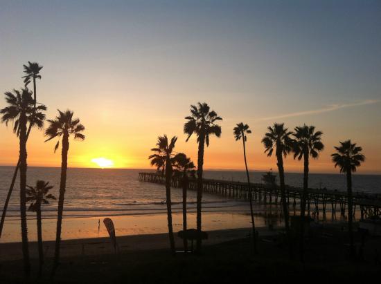 Sunset at Seahorse Resort San Clemente