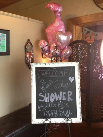 Tari's Premier Cafe and Inn: Baby Shower