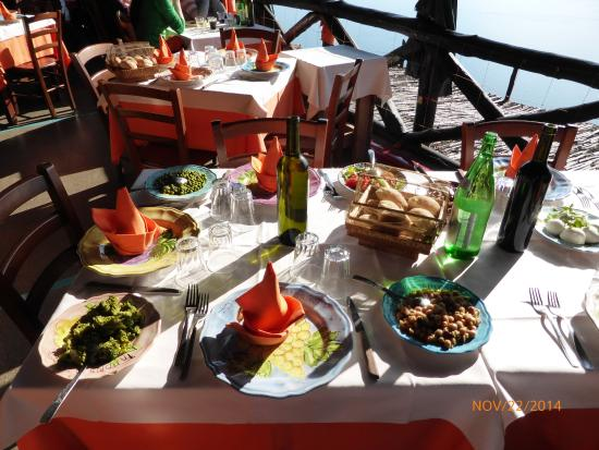 Amalfi Coast Destination Tours Company : The fresh food & wine.