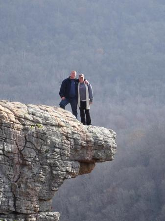 hawksbill crag whitaker point