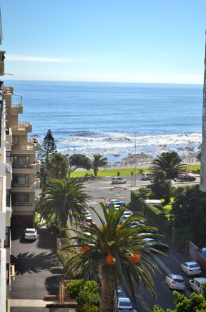 Protea Hotel by Marriott Cape Town Sea Point : View from balcony @Protea Sea Point