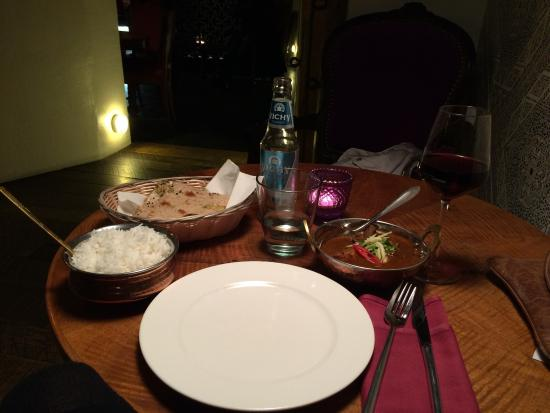 Bollywood: A nice set of dinner