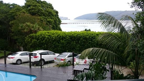 Hide Away Guest House: View from our room