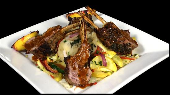 Sky Asian Fusion: Rack of Lamb