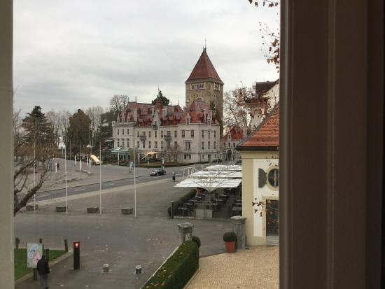 Angleterre & Residence Hotel: view from my room