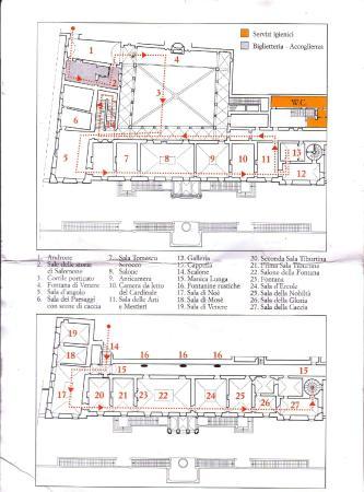 Mappa Villa D Este