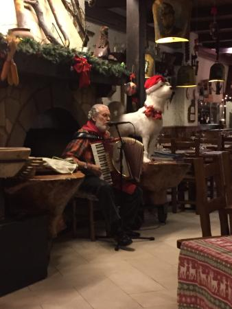 La tana del lupo: Atmosfera natalizia