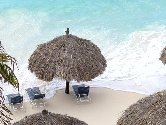 Crystal clear water & powdery sand