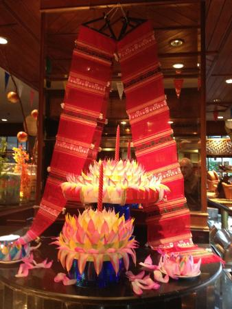 Cake At Home Khon Kaen : special day decorations, lobby - Picture of Pullman Khon ...