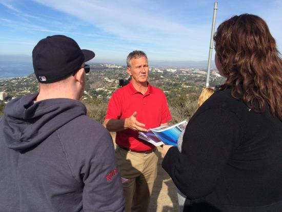 Coastal San Diego Tours to La Jolla & Torrey Pines with TourGuideTim: Victor showing off HIS  beautiful city...