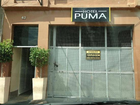 Hotel Puma : Entrada do hotel